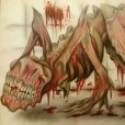 A fleshy and bloodthirsty creature