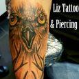 En tatuering med djurmotiv