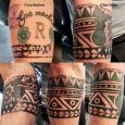 A cover up in maori inspired style