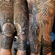 A forearm with norse theme